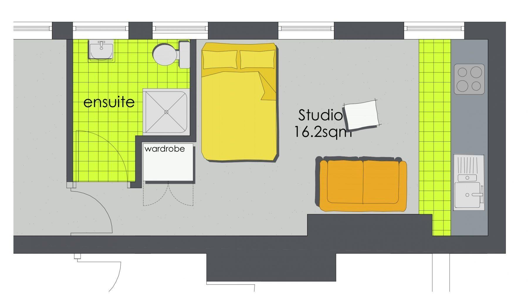 The Pad - Floor Plan
