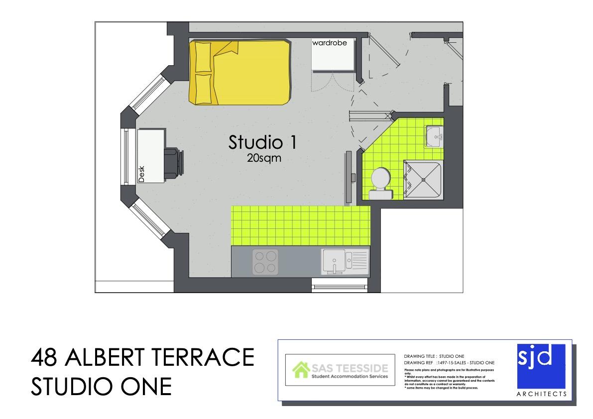 The George Suite - Floor Plan