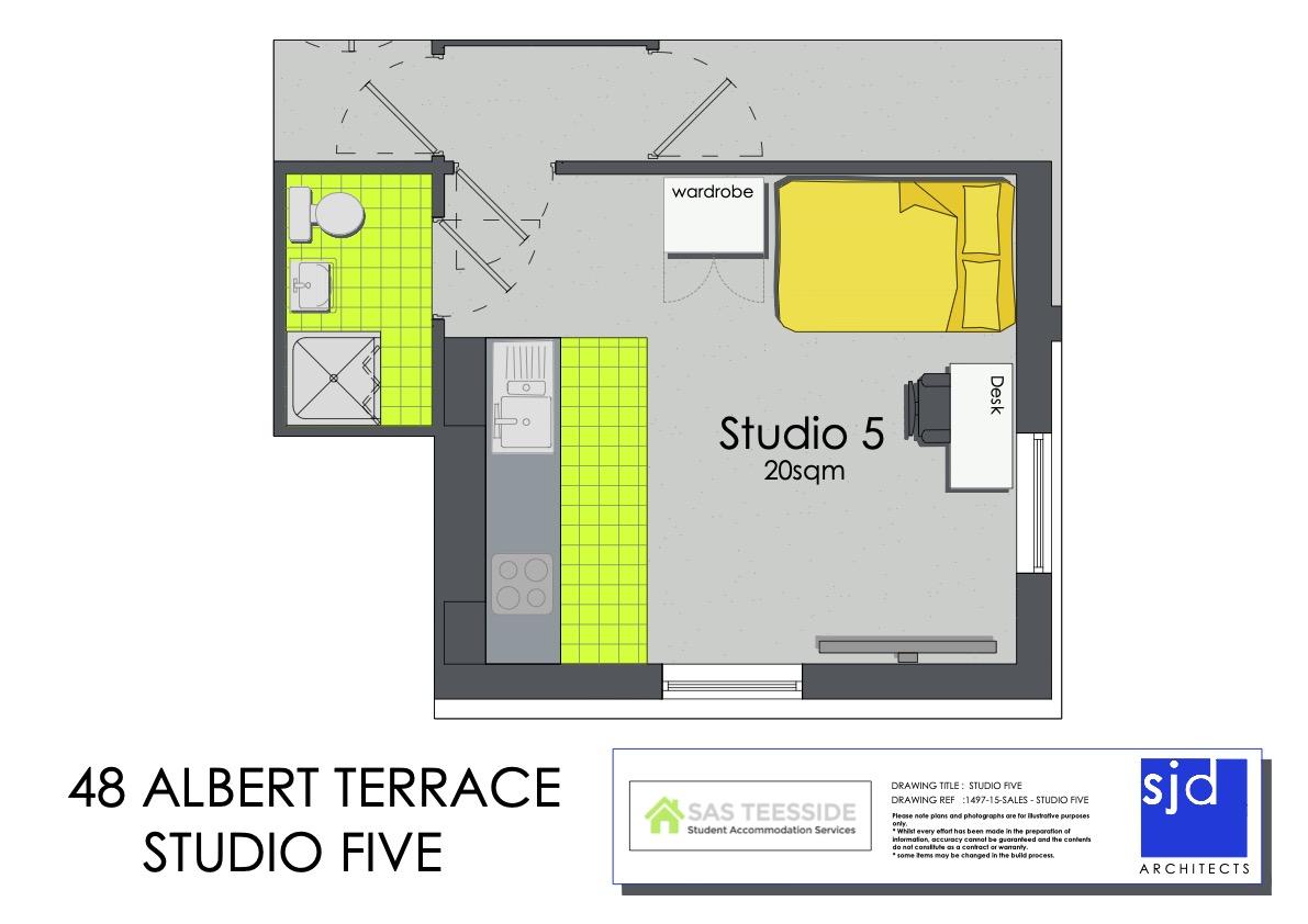 Helena Apartment - Floor Plan